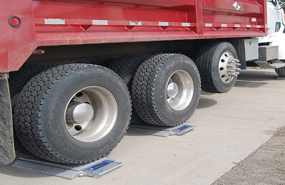 Intercomp PT300 Double Wide Wheel Load Scales Image