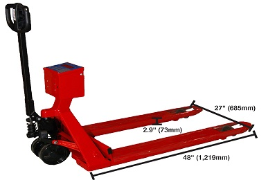 Intercomp PW800 Pallet Jack Scales Image
